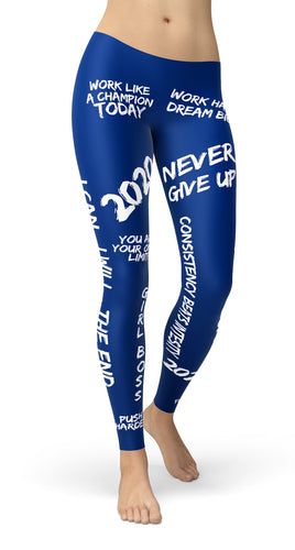 2020 Motivational Leggings