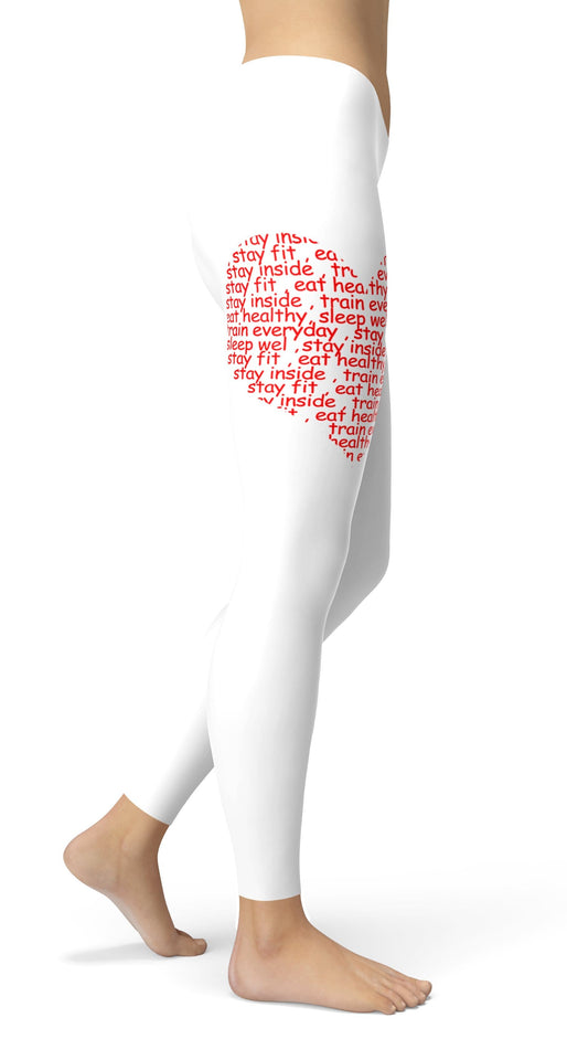 #StayStrong Leggings - US FITGIRLS