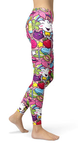 Graffiti girl power Leggings - US FITGIRLS