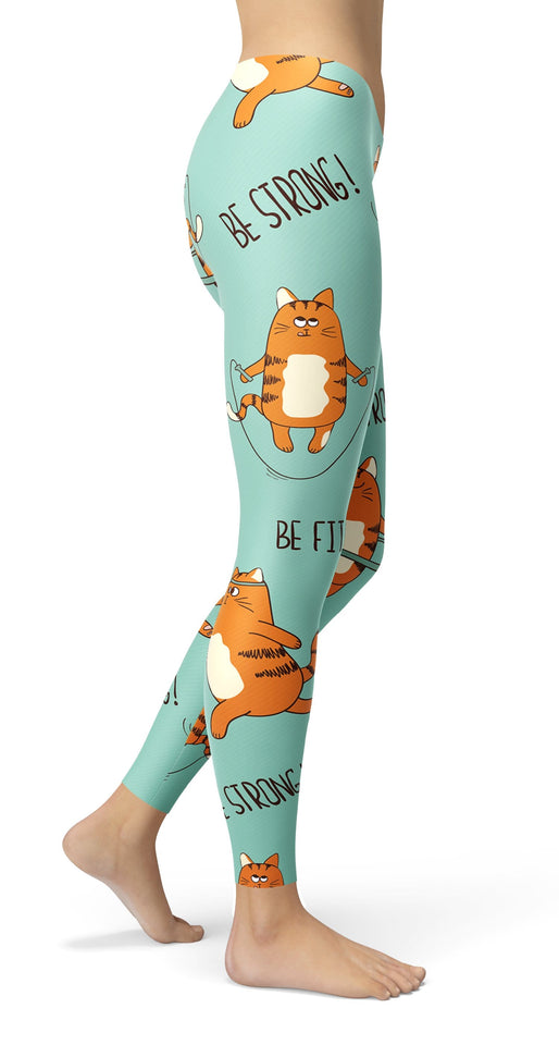 Motivation Cats Leggings - US FITGIRLS