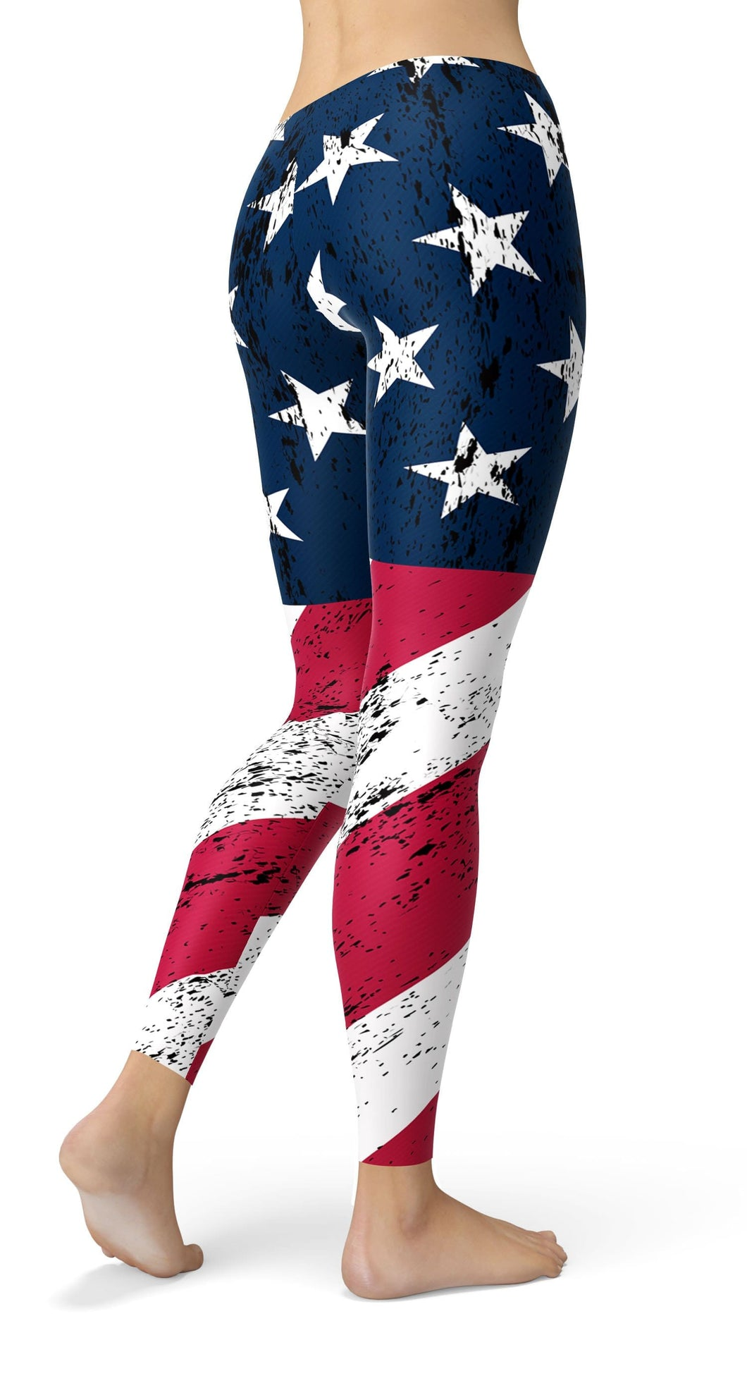 AMERICAN FLAG LEGGINGS - US FITGIRLS