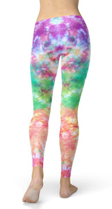 Colorful Tie Dye Leggings - US FITGIRLS