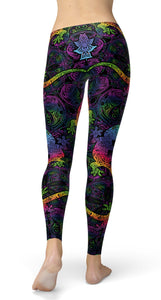 gecko and boho suns Leggings - US FITGIRLS