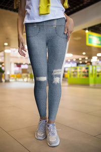 REALISTIC JEANS LEGGINGS - US FITGIRLS
