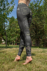 Vegan Menu Leggings - US FITGIRLS