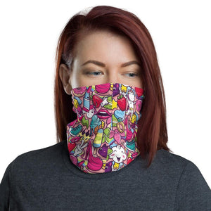 GRAFFITI GIRL POWER Neck Gaiter - US FITGIRLS