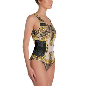 LEOPARD CHAIN BELT GOLD BAROQUE  Swimsuit - US FITGIRLS