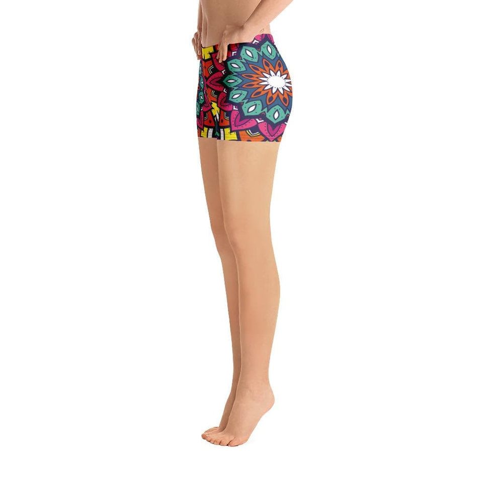 MANDALA ORNAMENT Shorts - US FITGIRLS