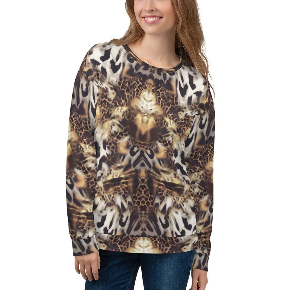 ANIMAL MIX Sweatshirt - US FITGIRLS
