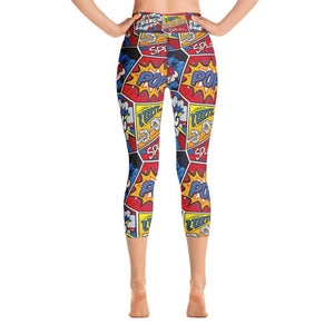 BOOM BANG CARTOON Yoga Capri Leggings - US FITGIRLS