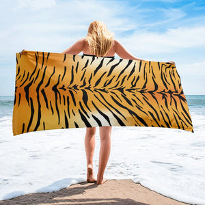 TIGER PRINT Towel - US FITGIRLS
