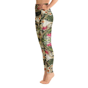 CAMOUFLAGE FLOWER Yoga Leggings - US FITGIRLS