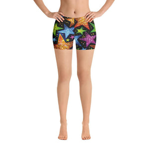 Bright Stars Shorts - US FITGIRLS