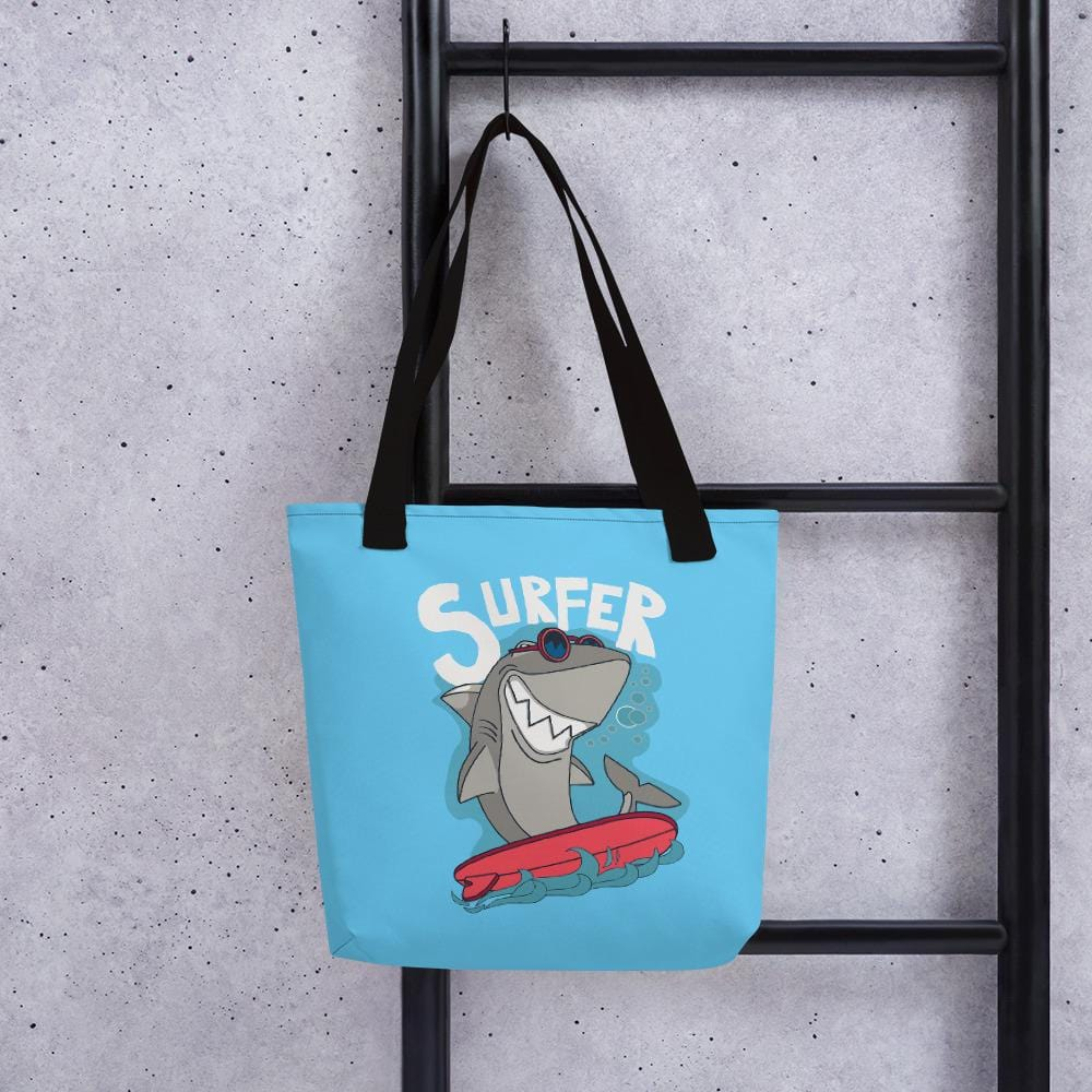 Surf Shark Tote bag - US FITGIRLS