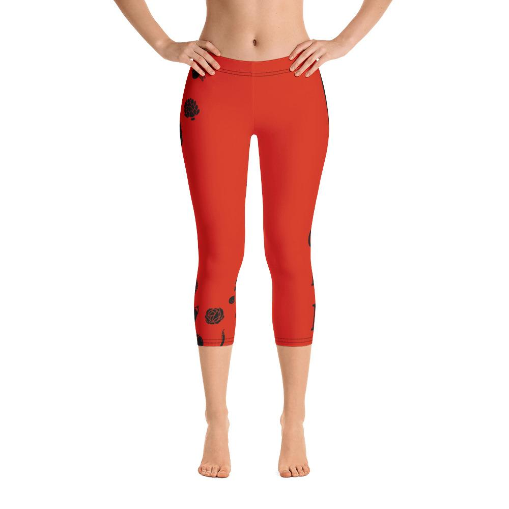 Vegan Capri Leggings - US FITGIRLS