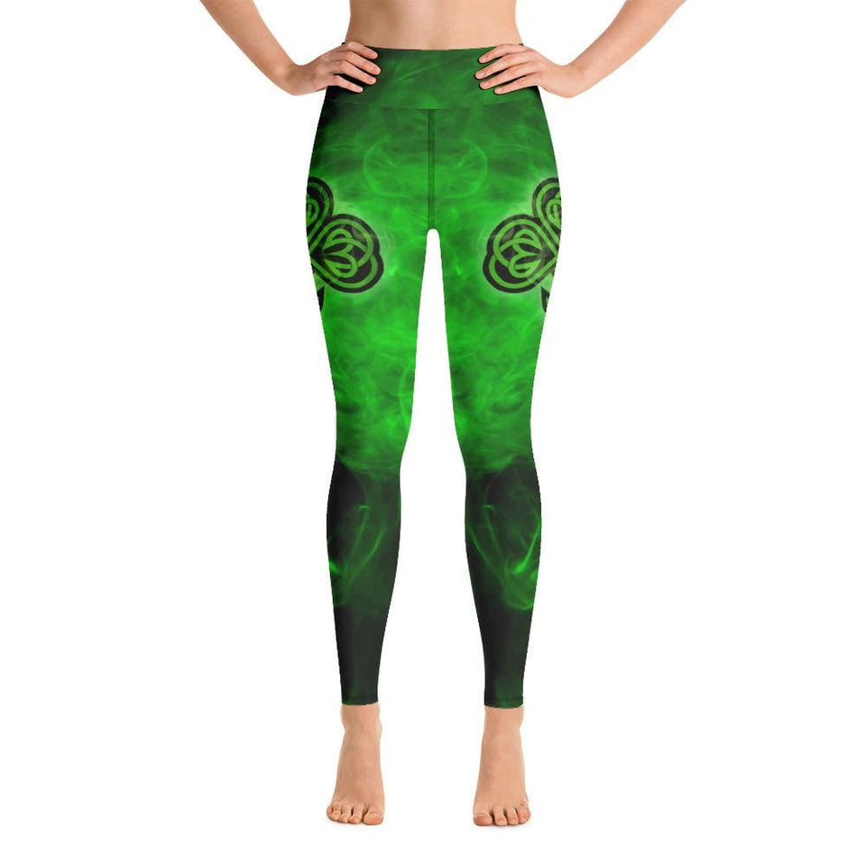 Irish Smoke Yoga Leggings - US FITGIRLS