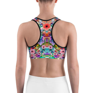 Floral Sports bra - US FITGIRLS