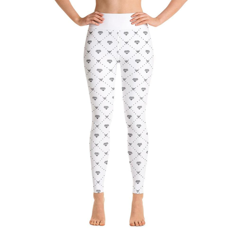 CONNECTED DIAMONDS Yoga Leggings - US FITGIRLS