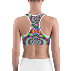Psychedelic  Sports bra - US FITGIRLS