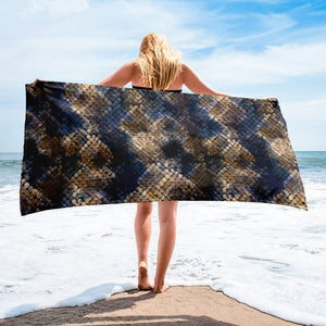 Snake Print Towel - US FITGIRLS