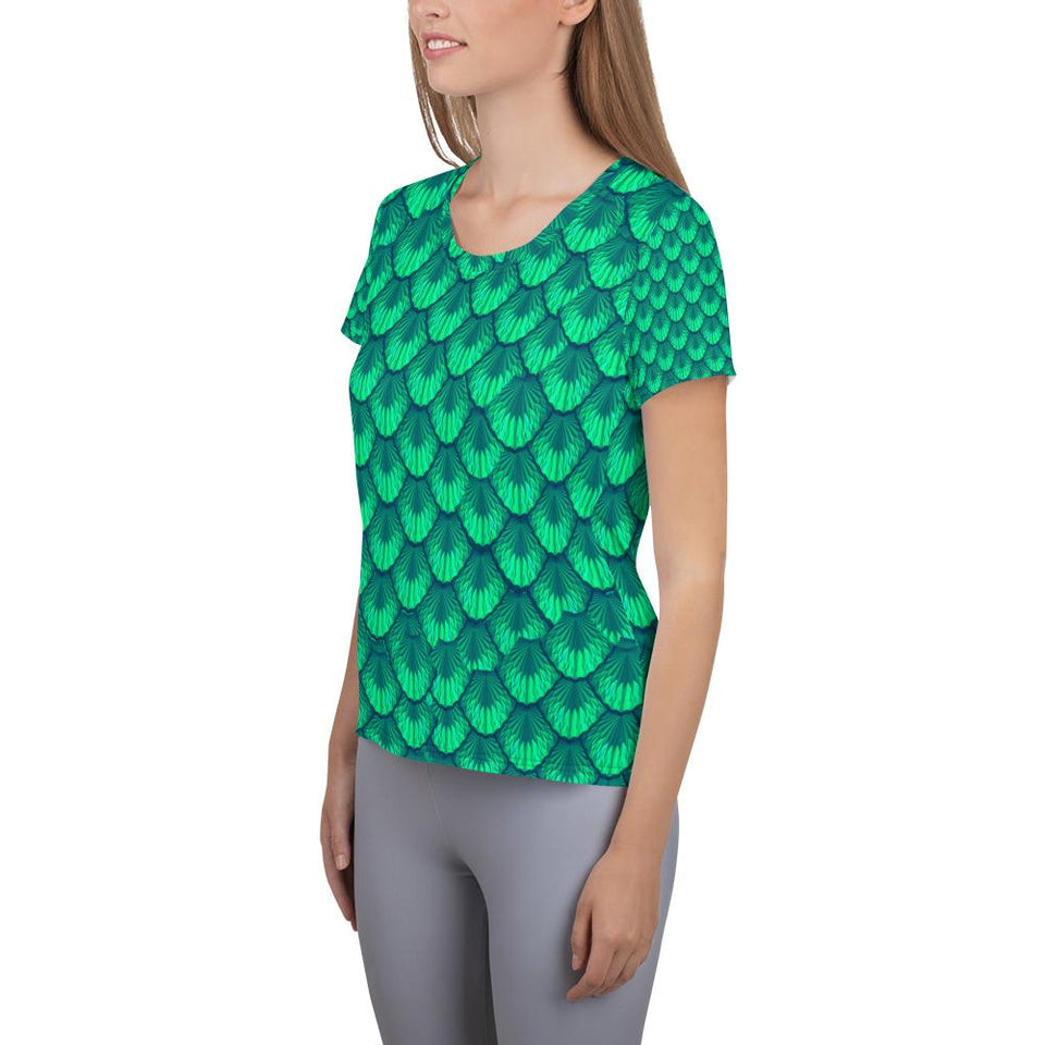 MERMAID Athletic T-shirt - US FITGIRLS