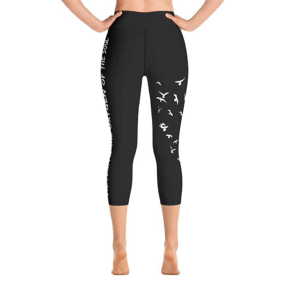 FREEDOM Yoga Capri Leggings - US FITGIRLS