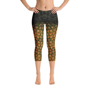 PineApple Capri Leggings - US FITGIRLS