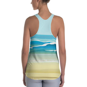 Running on the Beach Racerback Tank - US FITGIRLS