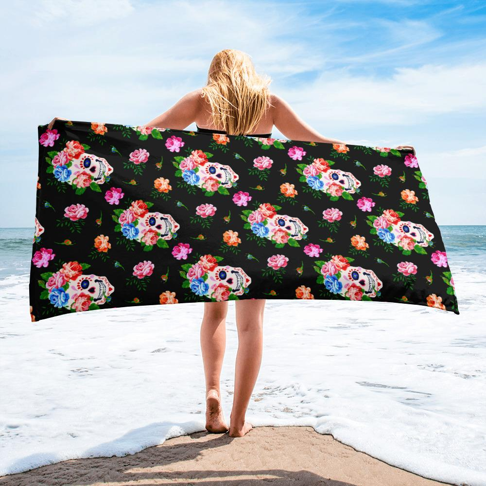 Skulls Towel - US FITGIRLS