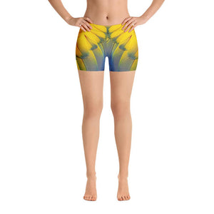 Parrot Feathers Shorts - US FITGIRLS