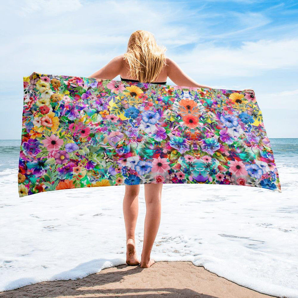Floral Towel - US FITGIRLS