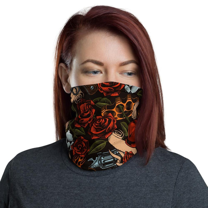 guns and roses Neck Gaiter - US FITGIRLS