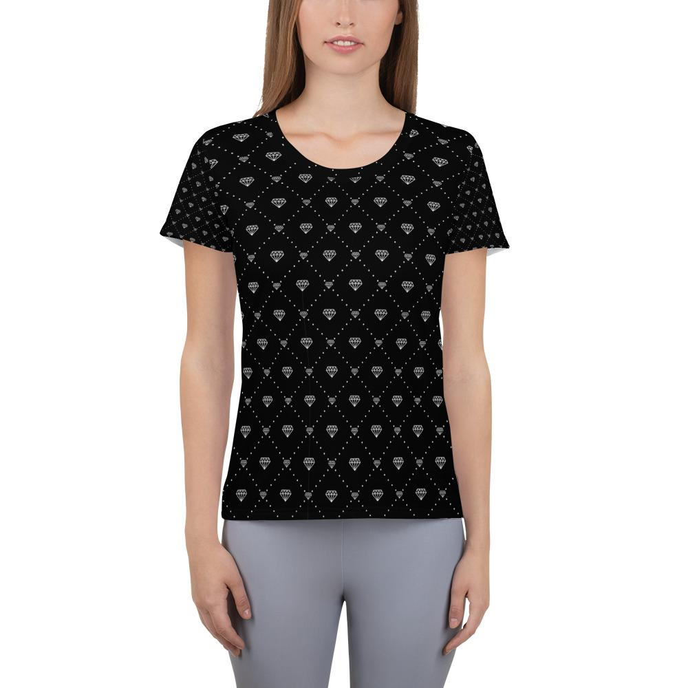 CONNECTED DIAMONDS  Athletic T-shirt - US FITGIRLS