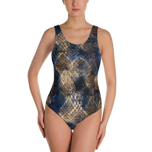 Snake Print Swimsuit - US FITGIRLS