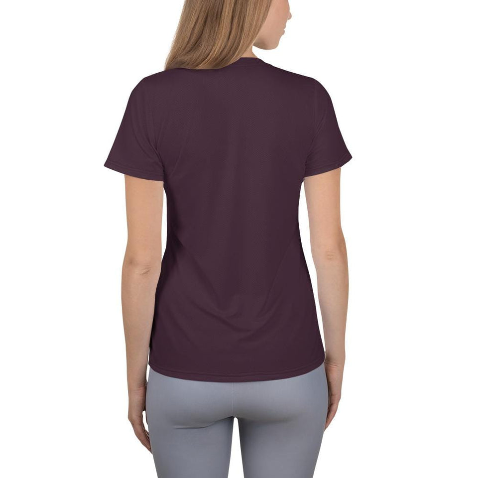 Surfing Women Athletic T-shirt - US FITGIRLS