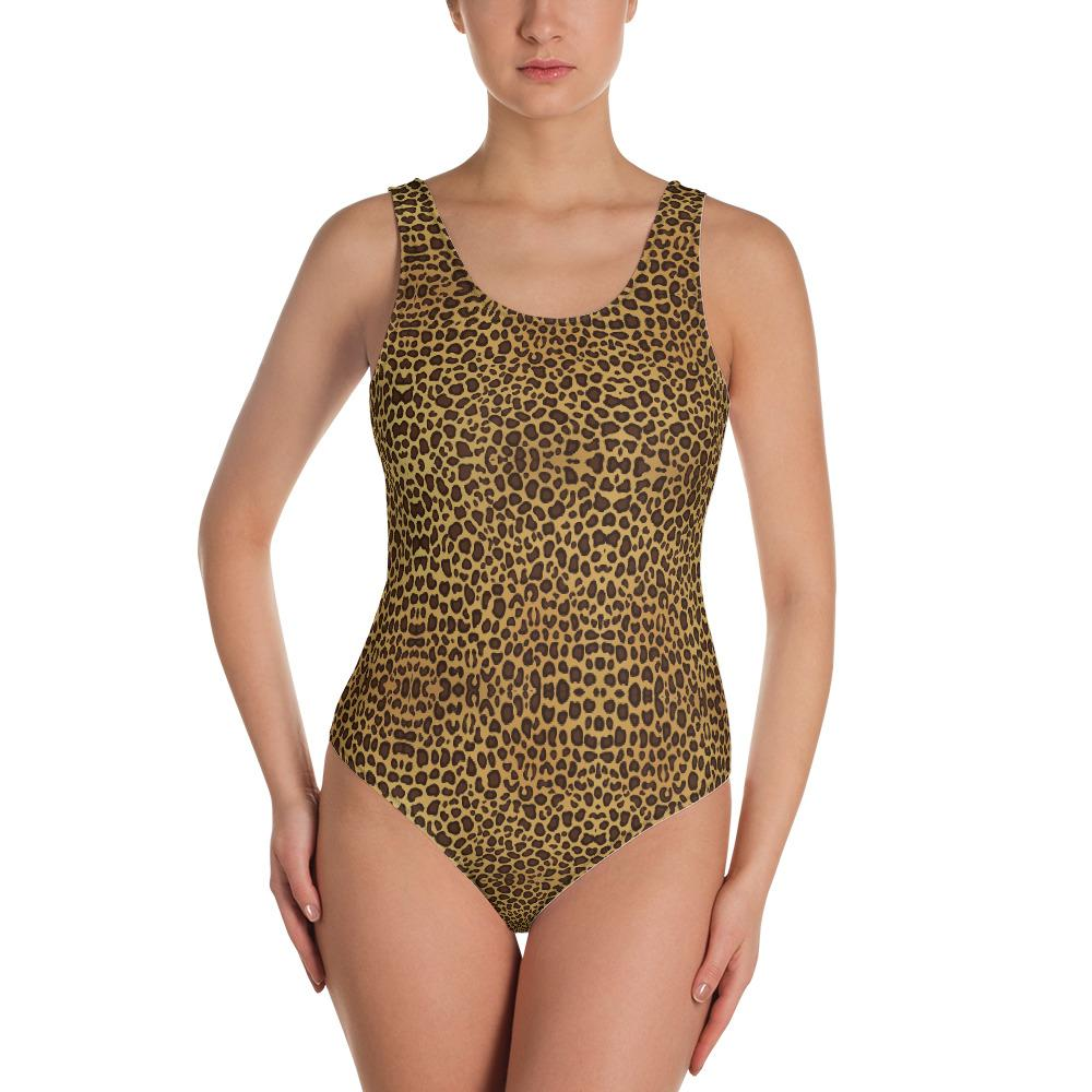 LEOPARD PRINT Swimsuit - US FITGIRLS