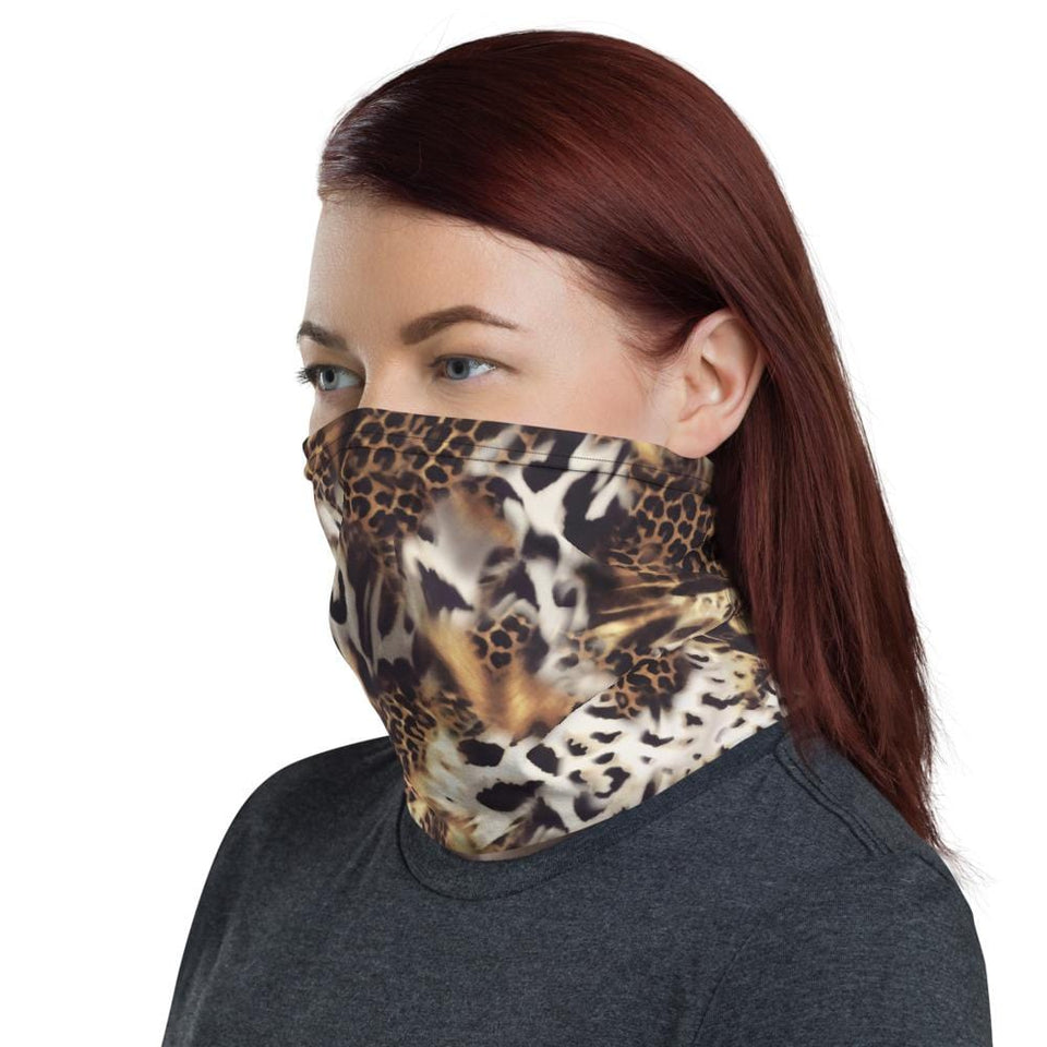 Animal mix Neck Gaiter - US FITGIRLS