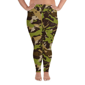 CAMOUFLAGE Plus Size Leggings - US FITGIRLS