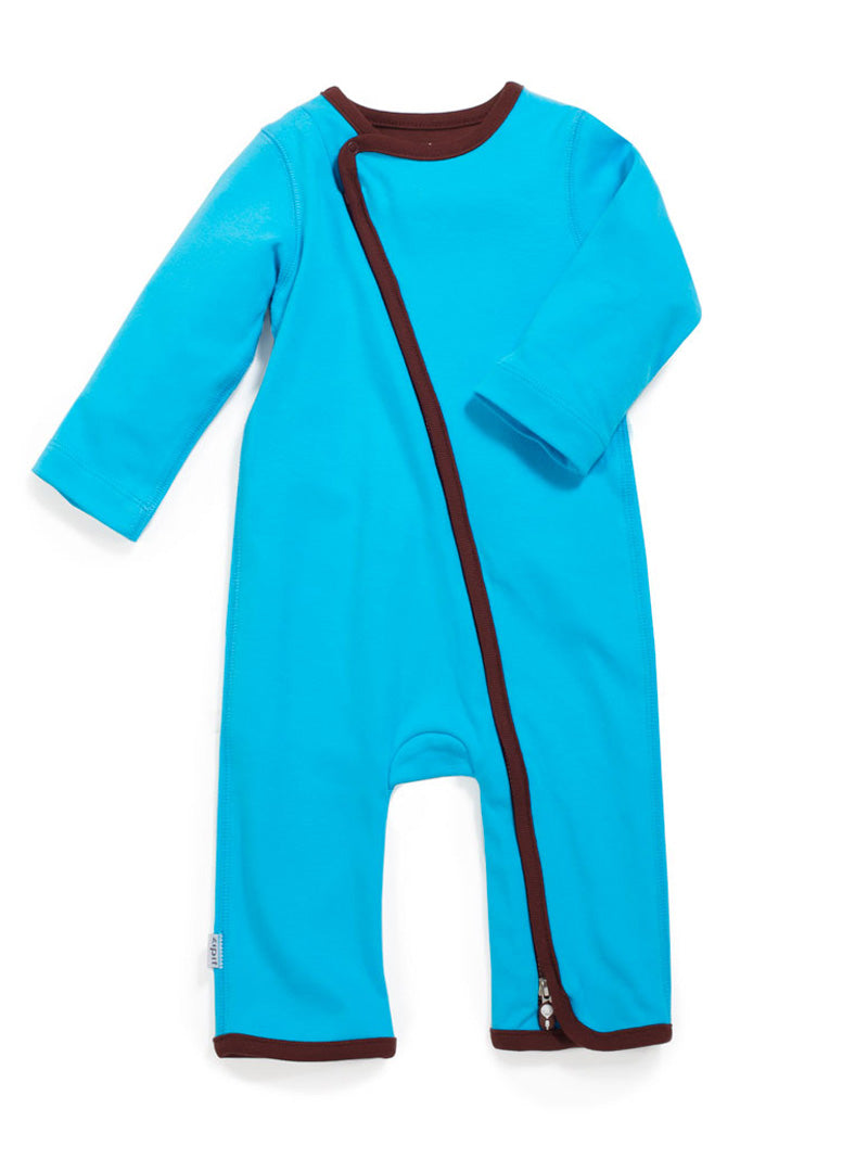 zip-up babygrow blue - Zipit® | Babywear with Zips for Easier Dressing