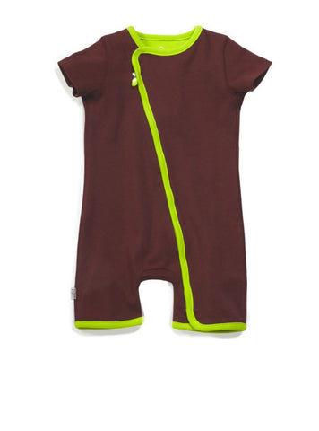 zip-up apple rompers