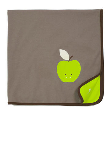 apple baby blanket