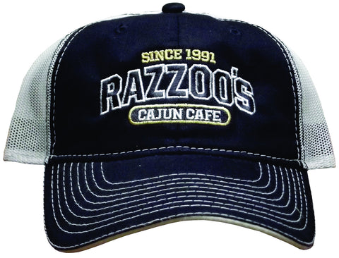 Razzoo's Mesh Cap in Navy