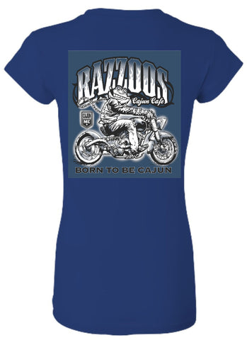 Biker - Ladies fitted tee