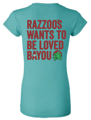 Love Bayou - Ladies fitted tee