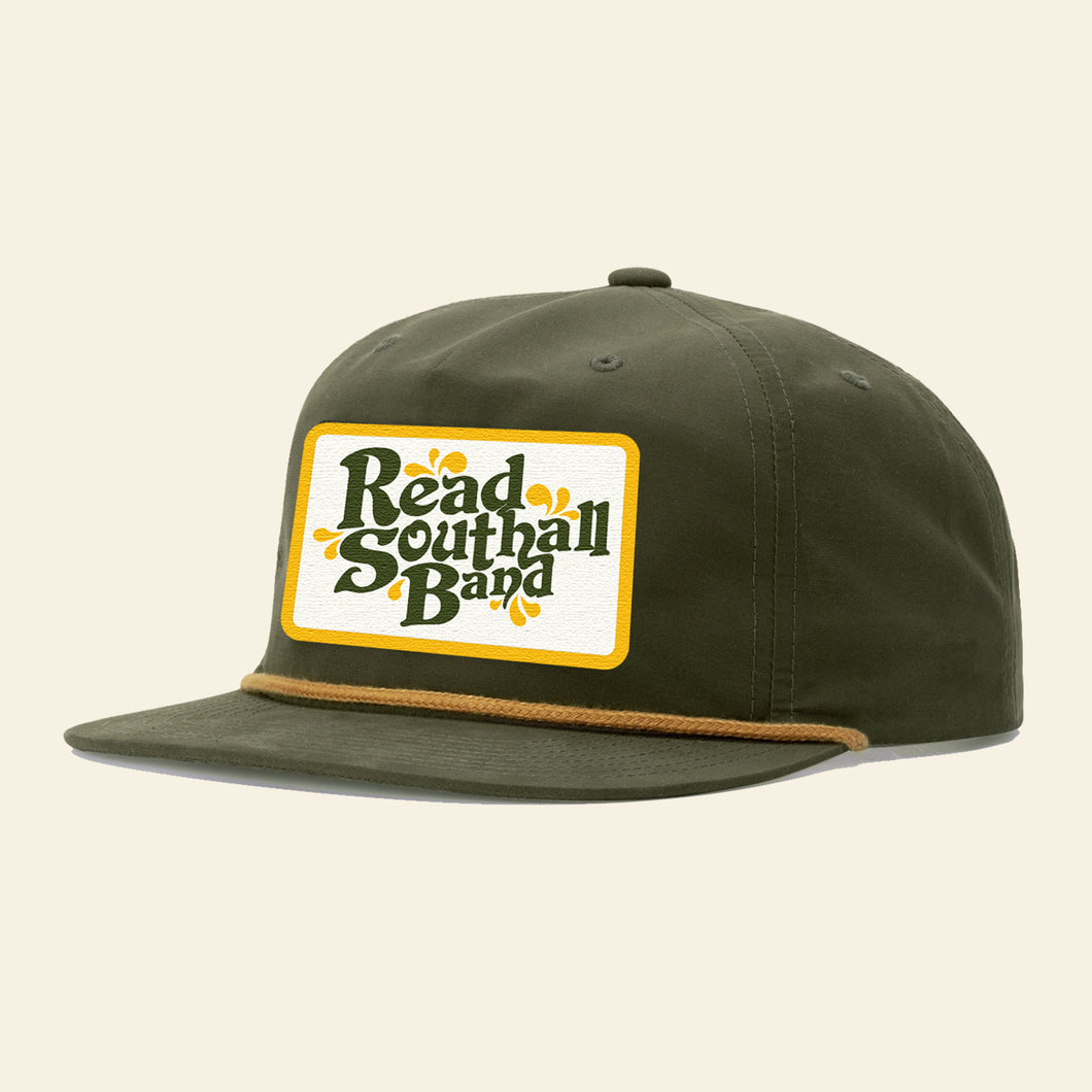 Green & Gold Snapback Hat