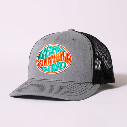 Heather Grey/Black Snap-Back Hat