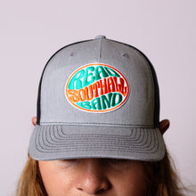 Load image into Gallery viewer, Heather Grey/Black Snap-Back Hat