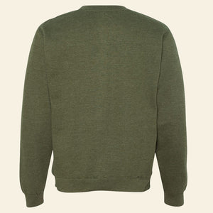 Army Green Midweight Sweatshirt