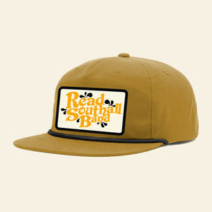 Gold & Black Snapback Hat