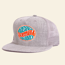 Load image into Gallery viewer, Heather Grey Snap-Back Hat